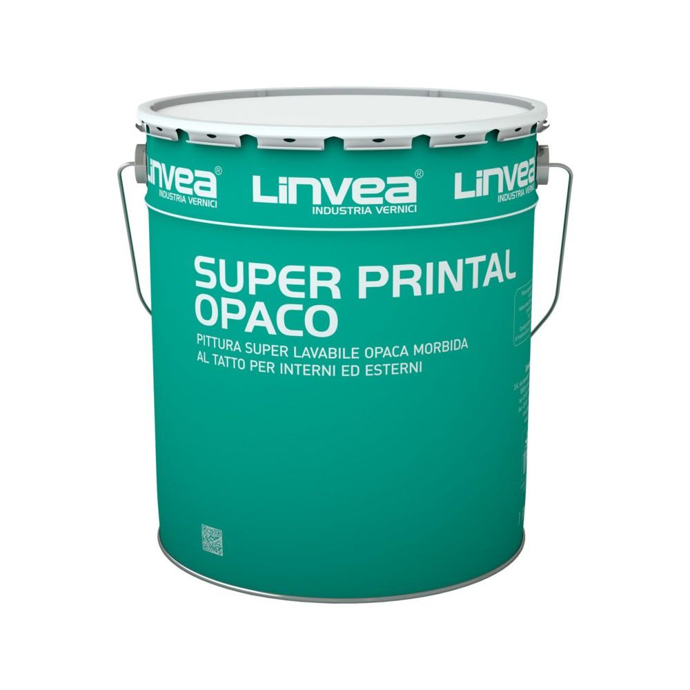 SUPER PRINTAL OPACO BIANCO LT 4 - LINVEA