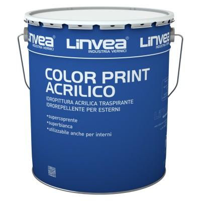 COLOR PRINT ACRILICO BIANCO LT 2,5 - LINVEA