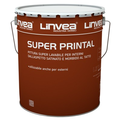 Super Printal Bianco Lt 4 - Linvea