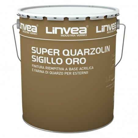Super Quarzolin Sigillo Oro Bianco Lt 15 - Linvea