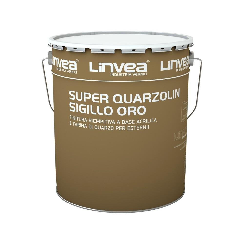 SUPER QUARZOLIN SIGILLO ORO BIANCO LT 4- LINVEA