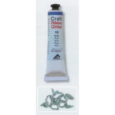 Craft Rilievo Glitter 20ml   Glitter Iridescente