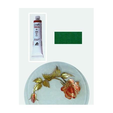 Craft 3d Colori A Rilievo Matt 005 Verde Da 20ml