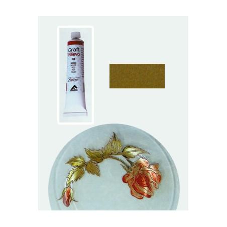 Craft 3d Colori A Rilievo Matt 6 Giallo Acido 20ml