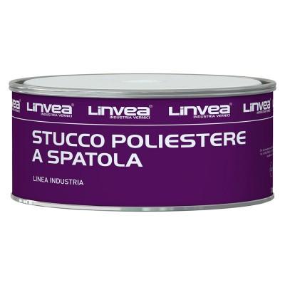 STUCCO A SPATOLA POLIESTERE LT 0,75 - LINVEA
