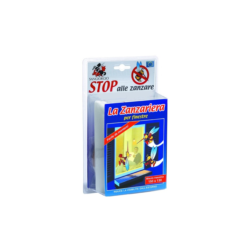 ZANZARIERA 130X150 BLISTER