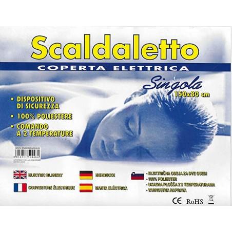 COPERTA TERMICA SINGOLA CM. 80X150