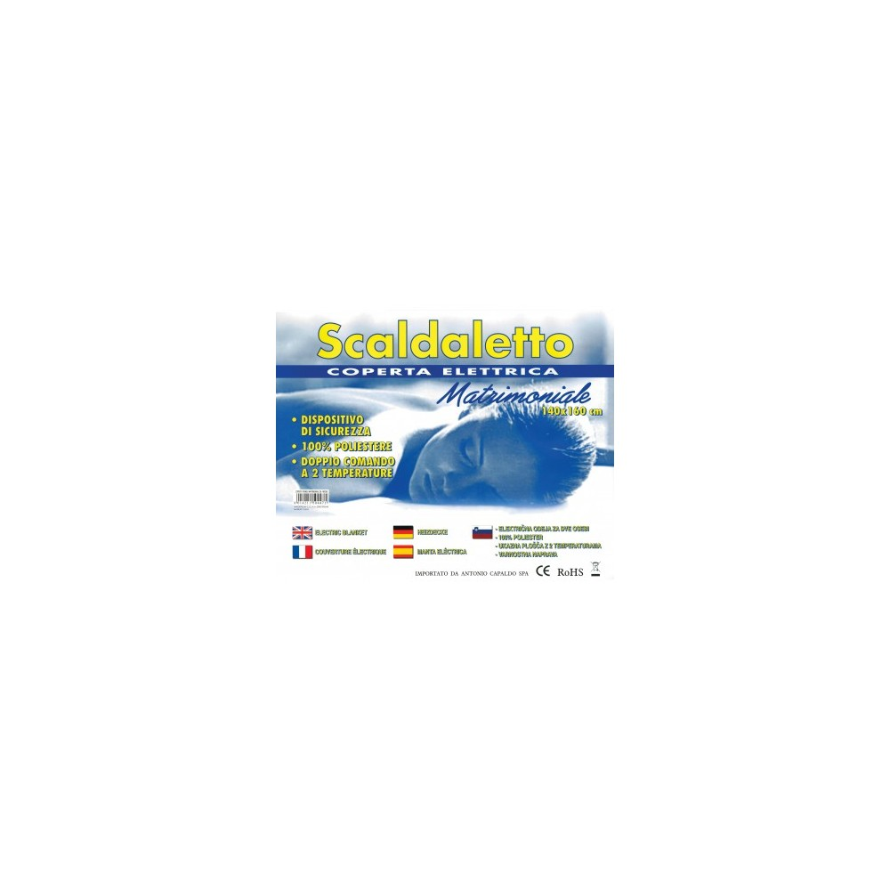 COPERTA TERMICA MATRIMONIALE CM. 140X160