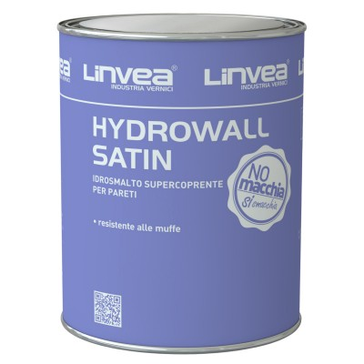 HYDROWALL SATIN IDROSMALTO BIANCO LT 1 - LINVEA