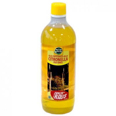 Olio Raffinatoolio Per Torce Alla Citronella 1 L.
