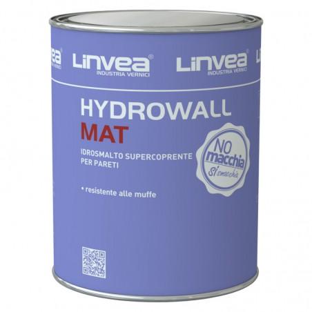 HYDROWALL MAT IDROSMALTO BIANCO LT 4 - LINVEA