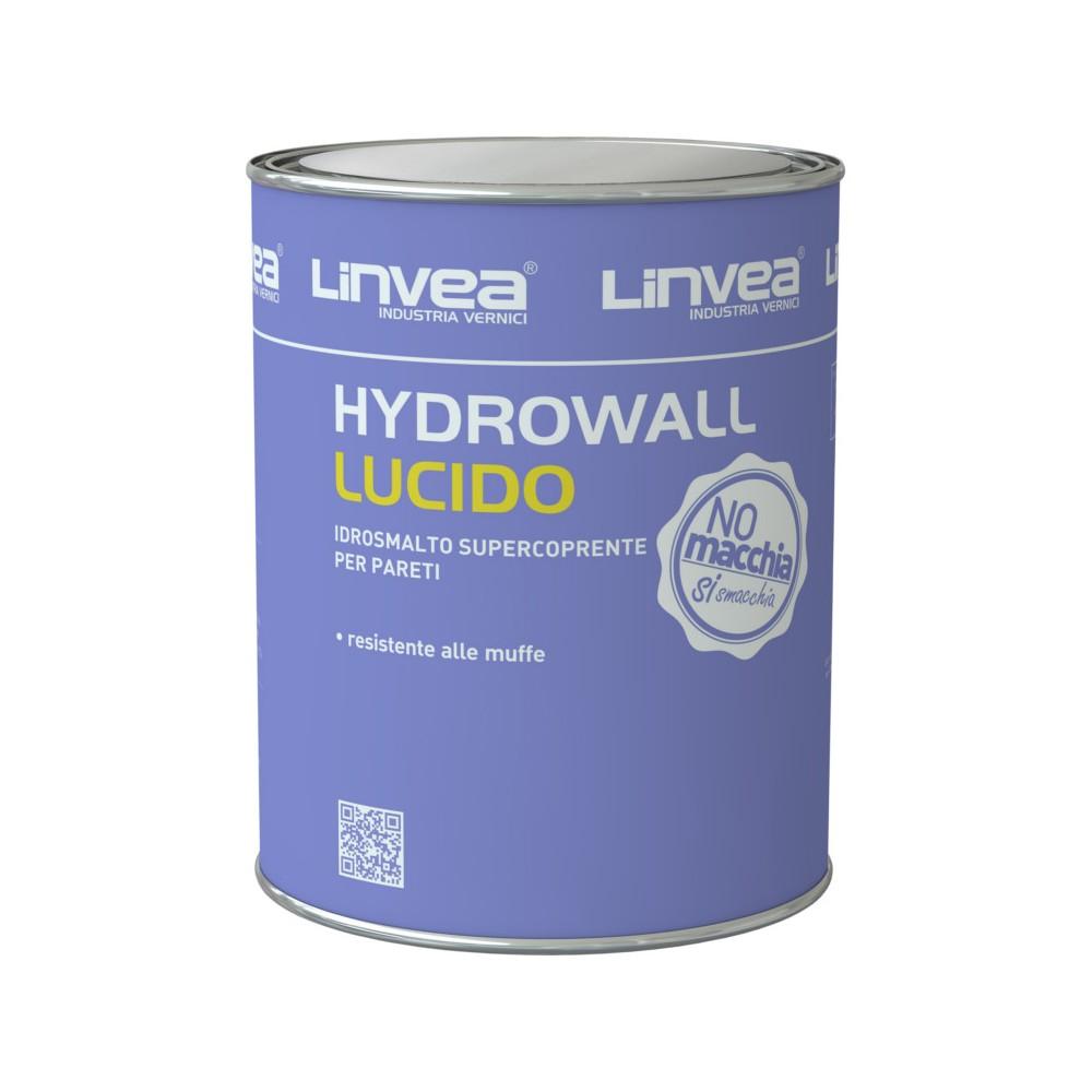 HYDROWALL LUCIDO IDROSMALTO BIANCO LT 4 - LINVEA