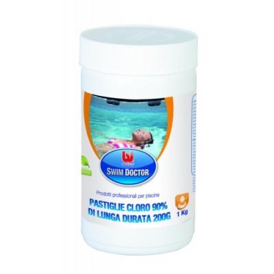Pastiglie Cloro Lunga Durata 200 Gr-1kg