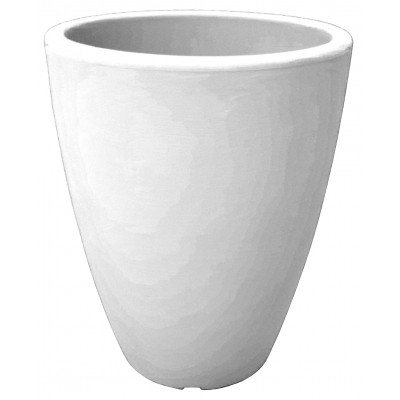 Vaso Home Tondo Cm 30x38h Bianco