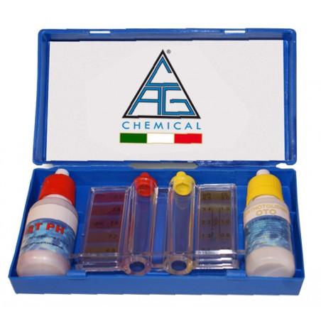 Test- Kit Per Piscine ( Liquido In Flacone), Chimical