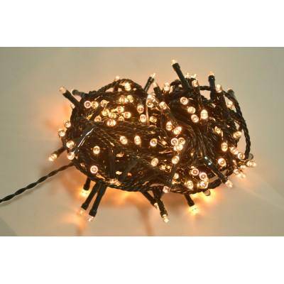 180 LED LUCE BIANCO CALDO CON CONTROLLER 9,5MT