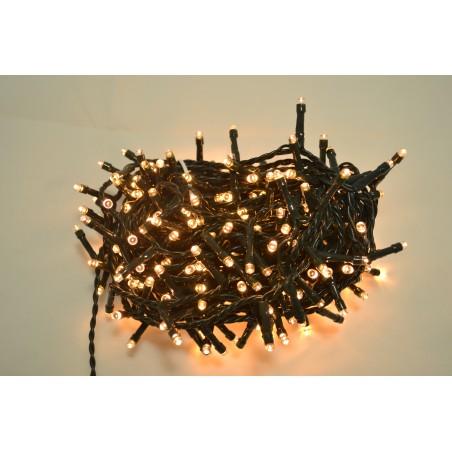 300 LED LUCE BIANCO CALDO CON CONTROLLER 14,5 MT