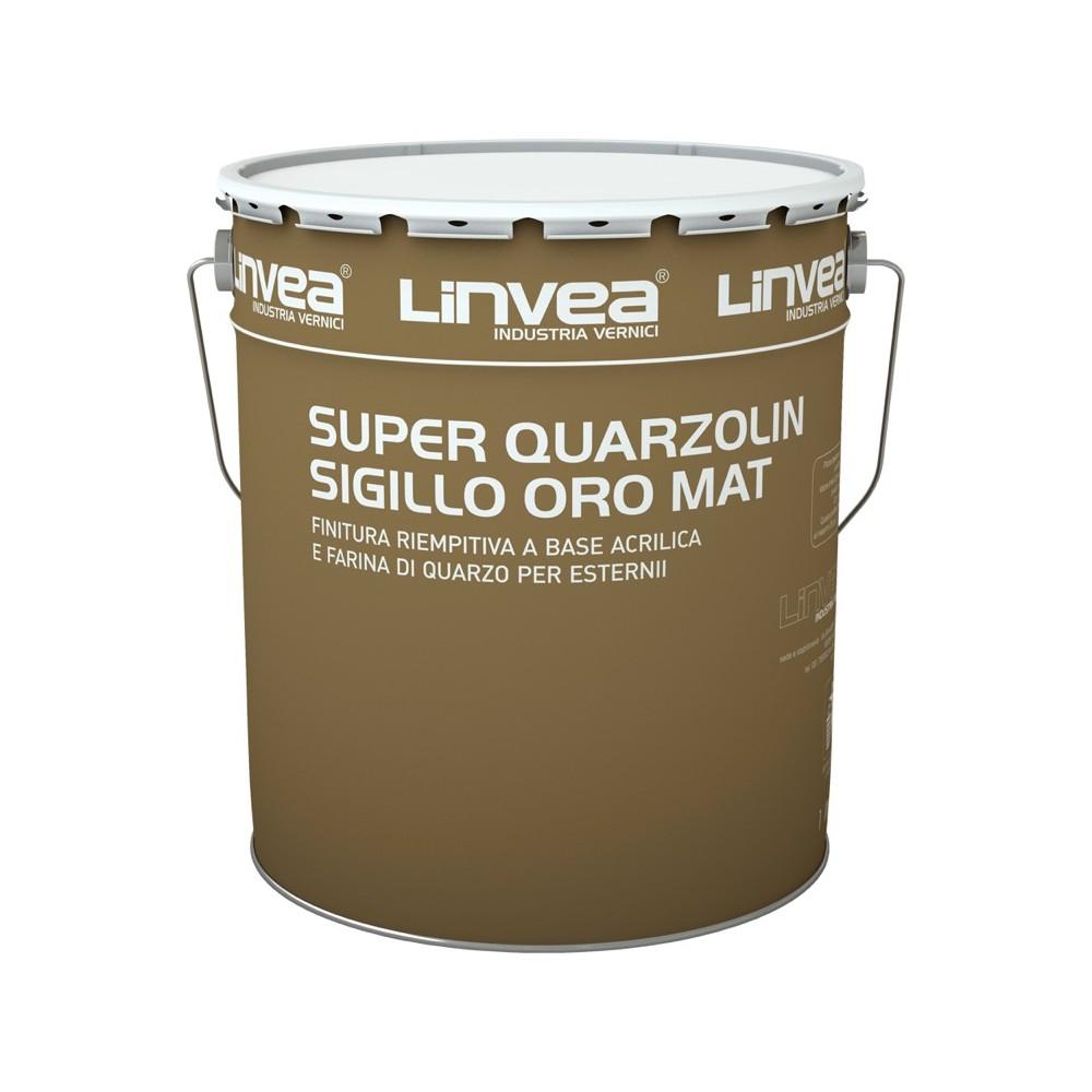 SUPER QUARZOLIN SIGILLO ORO MAT BIANCO LT 4 - LINV