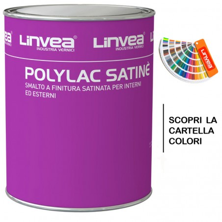 POLYLAC SATINE SMALTO SINTETICO SATINATO 2,500 ML