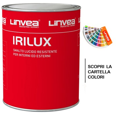 IRILUX SMALTO SINTETICO LUCIDO 0,750 GR. LINVEA