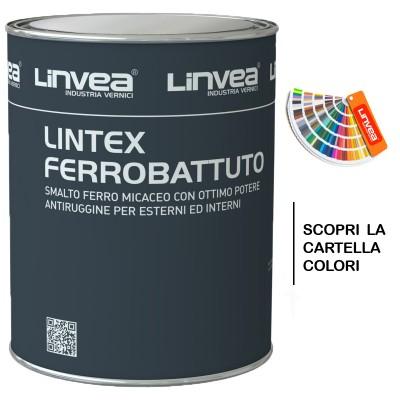 Lintex Ferrobattuto Smalto Sintetico Ferromicaceo Lt 0,750 - Linvea