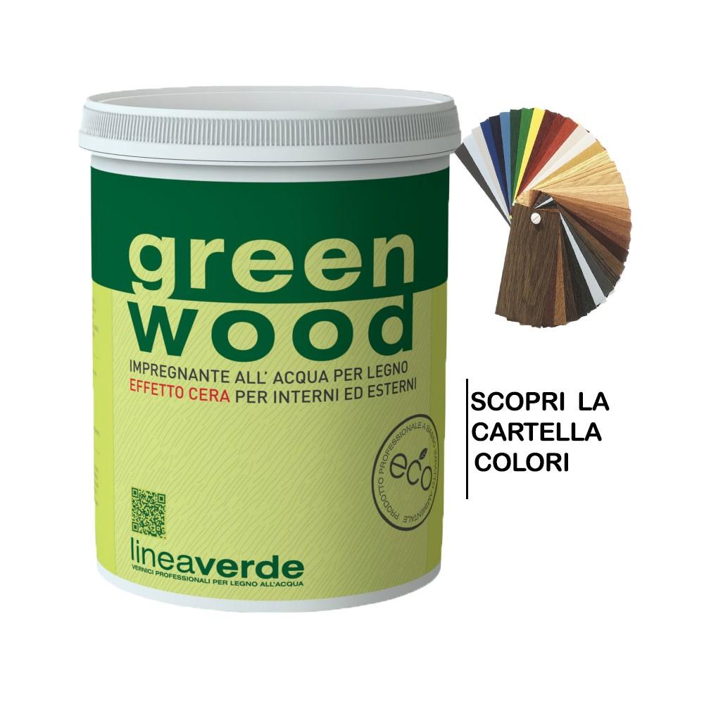 GREEN WOOD IMPREGNANTE CERATO 2,500 L - LINVEA