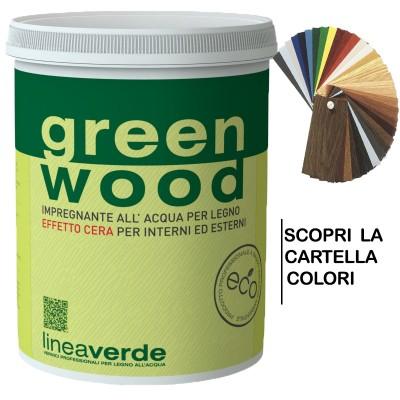 GREEN WOOD IMPREGNANTE CERATO 0,750 ML - LINVEA