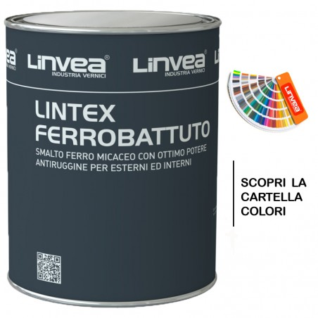 LINTEX FERROBATTUTO 030 GRANA GROSSA ANTRACITE 2,5