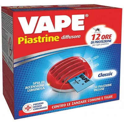 VAPE ELETTROEMANATORE+10 PIASTRINE