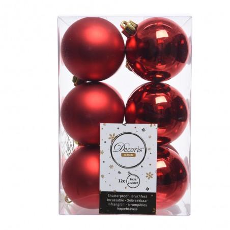BOX  12PZ. ROSSO CHRISTMAS